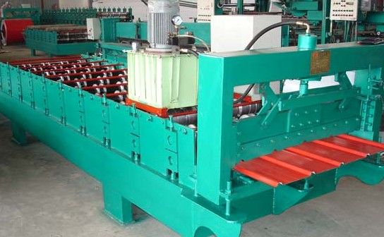 FX Corrugated Roll Sheet Machine