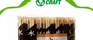 Full paper wrapped waribashi disposable chopsticks for sushi