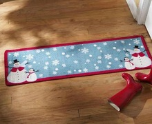 Christmas decoration carpet door mat