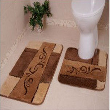 Non-slip bathroom floor mat sets wholesale