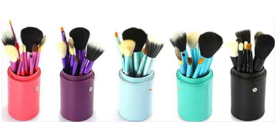 Newest Product 12PCS Professional Makeup Brushes Tools Foundation Eyeshadow Eyeliner Superior Soft