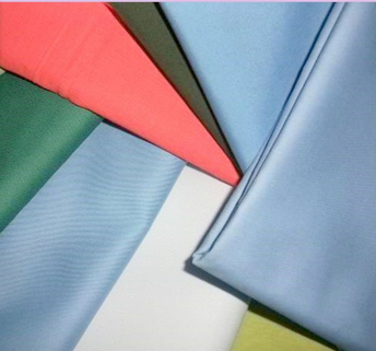 plain dyed poplin fabric
