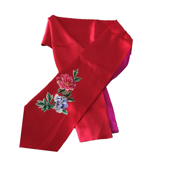 Traditonal beautiful fashion silk scarf