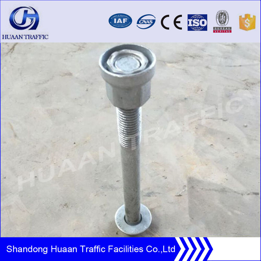 HDG highway guardrail bolt and nut