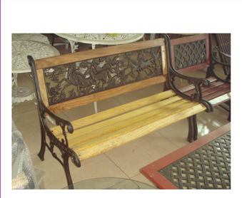 Alibaba furniture modern antique cast iron park bench,cheappark benchs