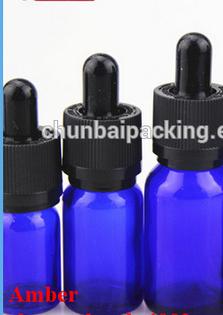 wholesale blue glass bottle eliquid