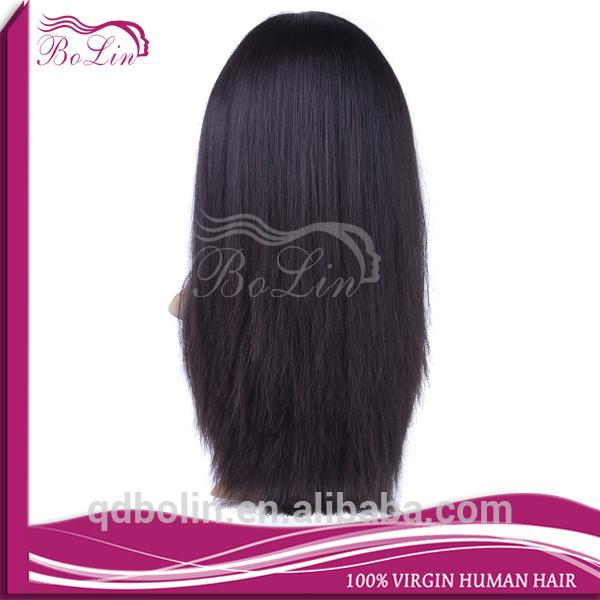 2015 hot sell natural color no shedding no tangle human hair jewish wig kosher wigs