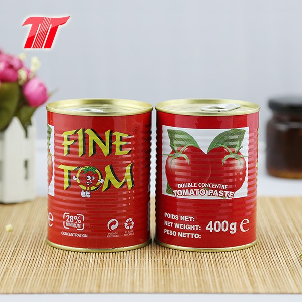 Canned tomato paste-400g