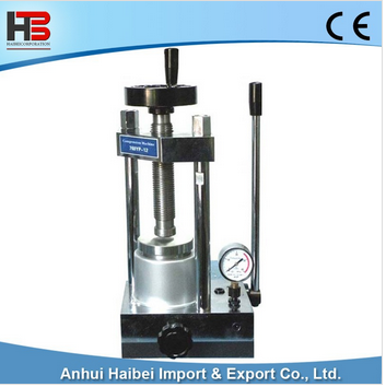 HB-YLJ-12T 12T manual press machine powder tablet press