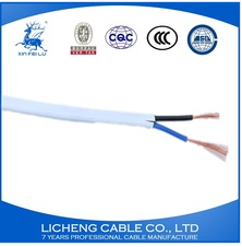 Hot sale house wiring PVC insulated copper flexible wire 2x0.5mm2