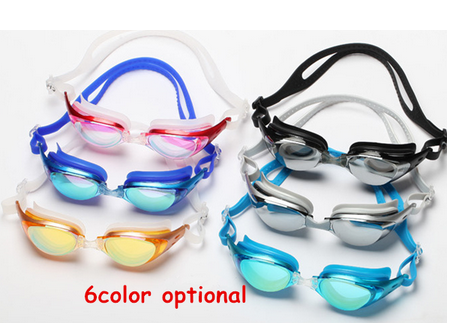 As seen on TV silicone glasses diving equipment funny swimming goggle/ new design sports swimming goggles/ diving equipment