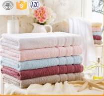 satin border 16s spiral cotton towel for Promotion