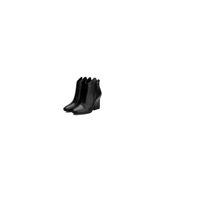 2015-2016 fancy pointed toe wrap thick heel genuine leather horse riding women shoes ladies boots