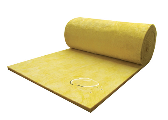 heat insulating glass wool blanket