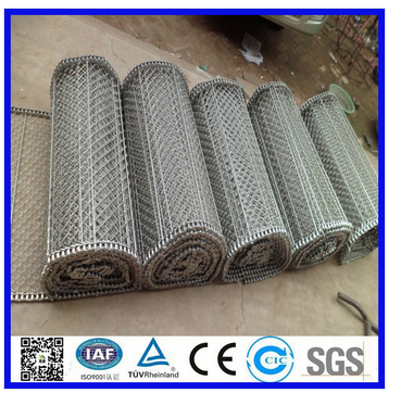 304 convey metal mesh belt