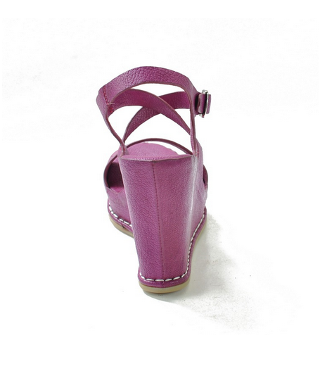 0561-1 FUCHSIA new fashion china supplier factory price shoes women ladies sandals