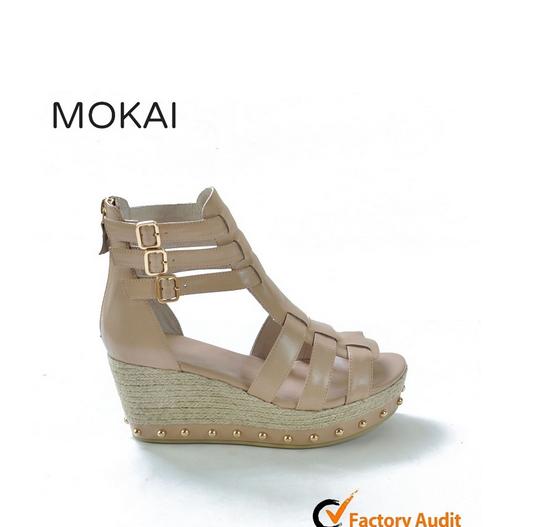 P-6 APRICOT women ladies summer sandal high heel sandal italy leather sandals ladies comfortable sandals