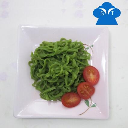 Konjac gluten free spinach fettuccine shirataki pasta diet noodles