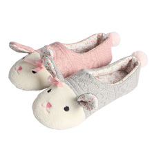 Cheap wholesale winter bedroom slippers soft sole indoor woman slipper