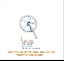 bike parts bicycle crank/single speed bicycle chainwheel crank/TNQB-001