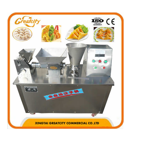 Automatic potsticker dumpling maker machine for food processing