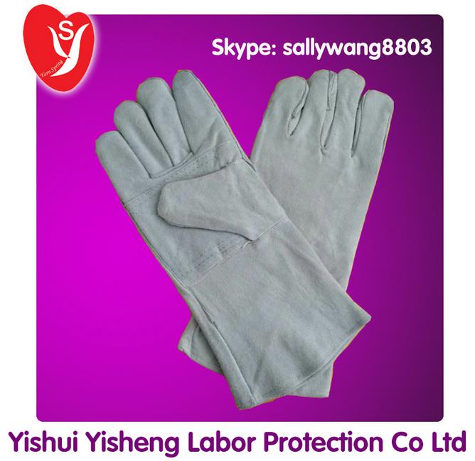 AB Grade Welding Leather Gloves