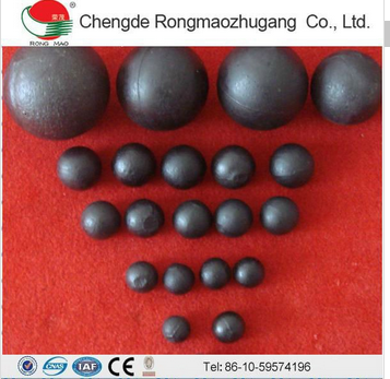 hardness 60-65 grinding steel ball for grinding iron ore mill grinding ball