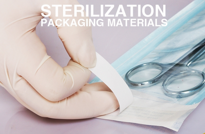 medical consumable medical self sealing sterilization pouches