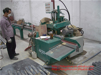 China supplier brass/copper/aluminum rod pneumatic cutting machine