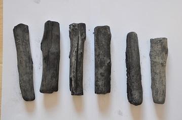 white charcoal