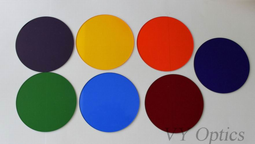 All kinds of optical filter color filter