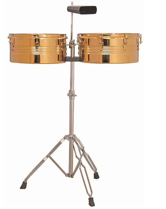 Timbal with cowbell and stand JWL-03