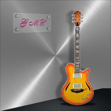 Factory production Mahogany jazz guitar best price