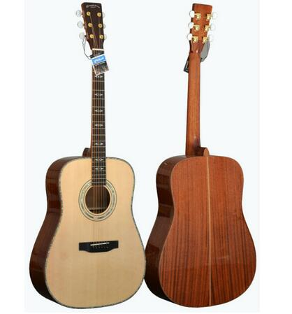 China made cheap 41 inch solid acoustic guitar