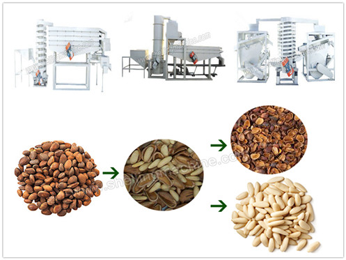 Pine Nuts Shelling Machine
