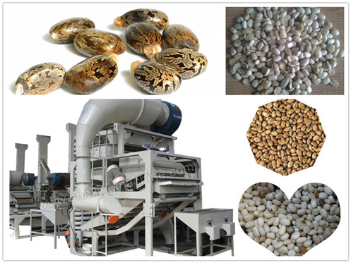 Castor Seed Shelling Machine
