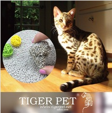 Cat Litter Factory Best Clean Round Bentonite Quick clumping Cat Litter with Nice Scent