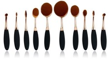 Custom Small Head Brush Cosmetic Brush Hot selling 10 piece makeup brush set