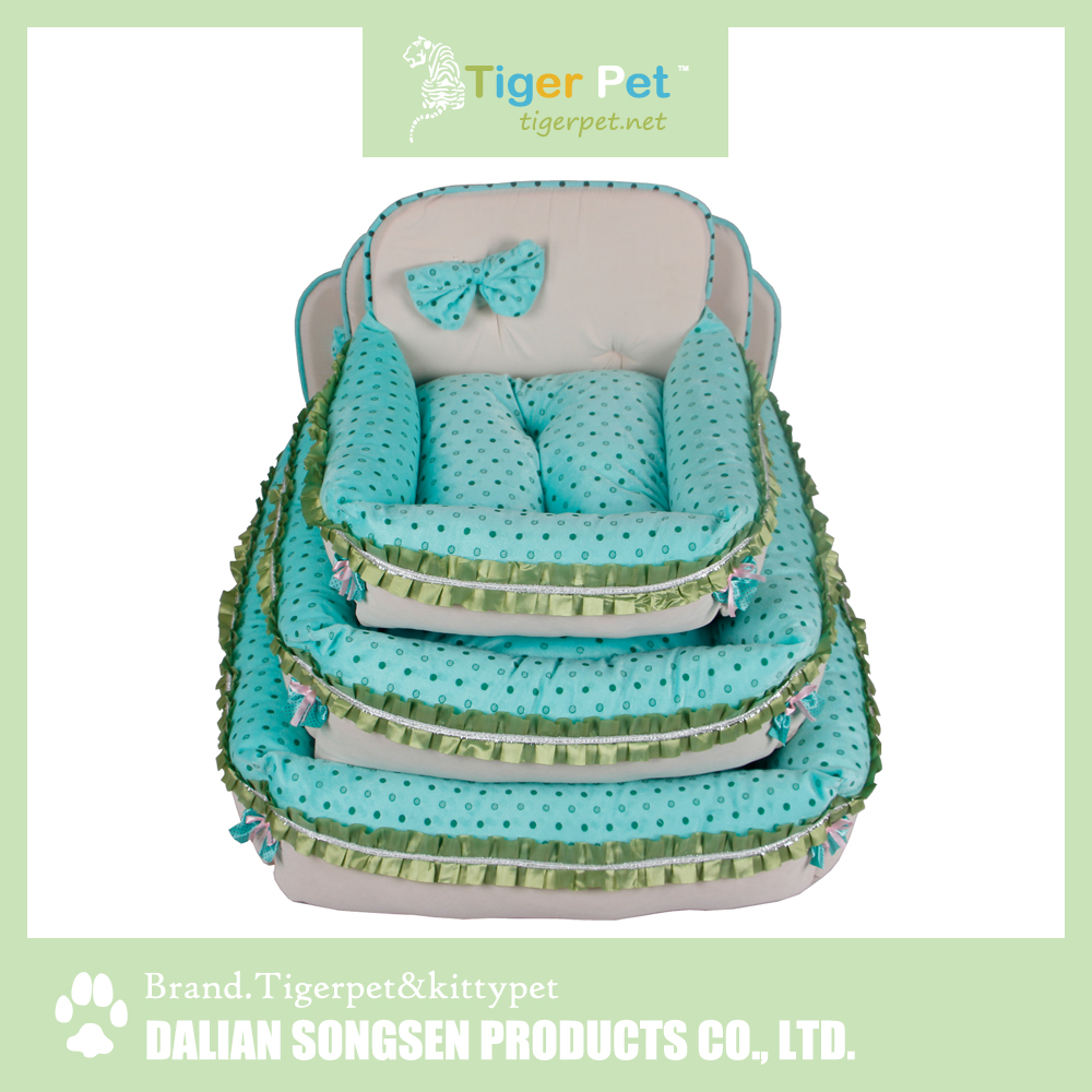 China high quality new arrival latest design pet product bed dog princess