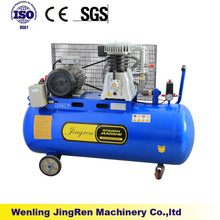 2070 4.0HP Oil lubricated belt driven air compressor 200L china supplier