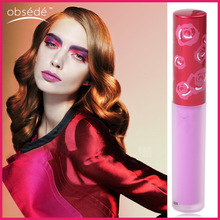 Custom frosted lip gloss tube private label magic long lasting waterproof matte lip gloss lipstick