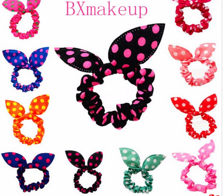 Hot sale hair accessories for women boutique hair bow hair rubber band
