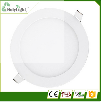 High quality 9w led down lights ultrathin downlight panel light