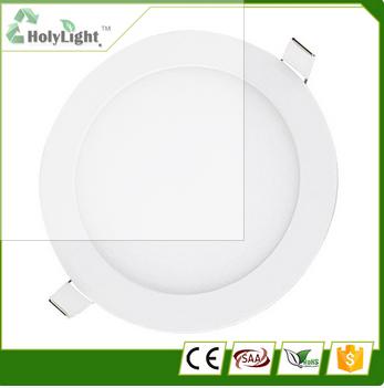 High quality 9w led down lights ultrathin downlight panel light
