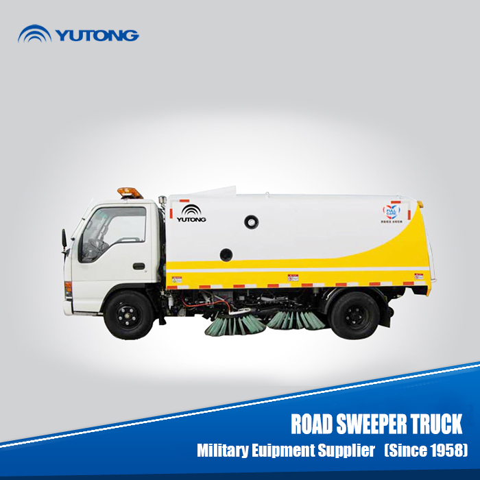 Anti-Seismic Street Cleaning Vehicle with Cone- O Seal Structure