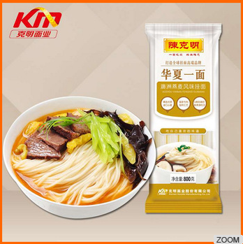 Healthy organic oat flavor dried noodles