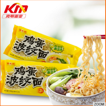 2016 China dried delicious instant egg noodles