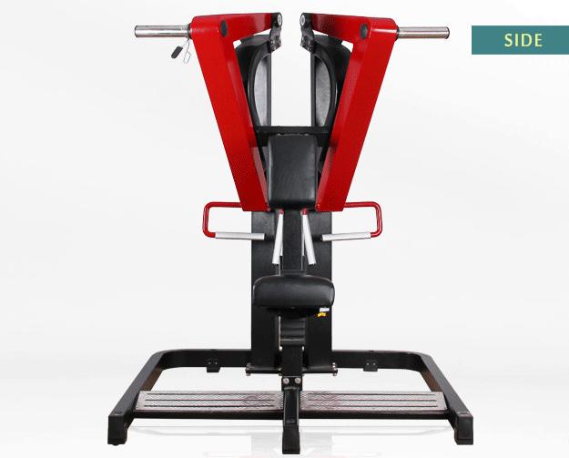 Professional rowing machine hammer strength rowing machine