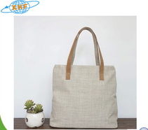 Promotional Standard Size Blank Cotton Canvas Tote Bag