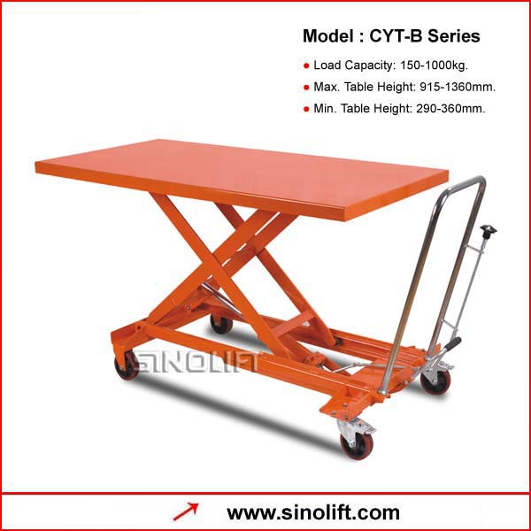 CYT-B Series Hand Table Truck
